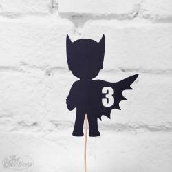 BatBoy - 3, tårtdekoration
