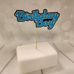 Birthday Boy, tårtdekoration