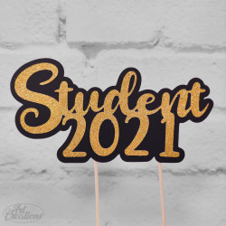 Dekoration till tårtan, Student 2021