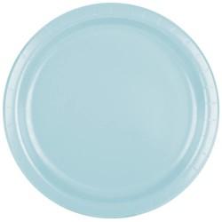 Babyblåa, 8 st tallrikar