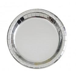 Silver, 8 st tallrikar
