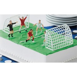 Fotboll, tårtdekoration (Wilton)