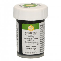Grön pastafärg (Moss Green - Wilton)