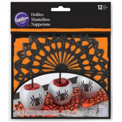 Spider Web, 12 st små tårtpapper