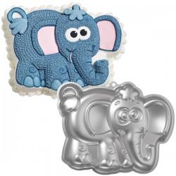 Elefant, bakform