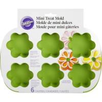 Blommor, portionsbakform (silikon)