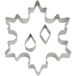 Gigant Snowflake, 3 st utstickare