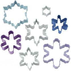 Snowflakes, 7 st utstickare