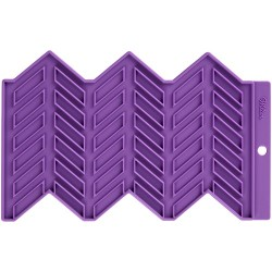 Herringbone, onlay-matta (silikon)
