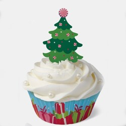 Jolly Christmas Tree, muffinspaket