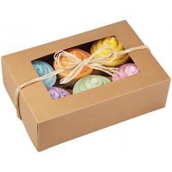 Cupcake-ask, 2 st (naturfärgad)