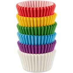 Rainbow, 150 st små muffinsformar