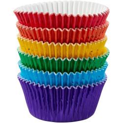Foliemuffinsformar - Rainbow, 72 st