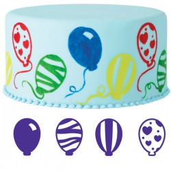 Ballonger, 4 st stämplar