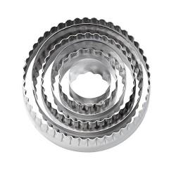 Cirkel, 6 st utstickare (dubbelsidiga)