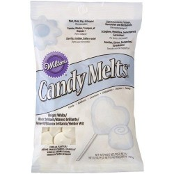 Candy Melts, bright white 340g (vaniljsmak) Wilton