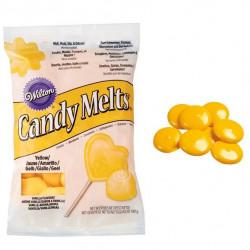 Candy Melts, gul 340g (vaniljsmak)