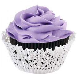 Doily Lace, muffinsformar och cupcake wraps