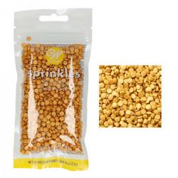 Guld, konfettiströssel (Wilton)