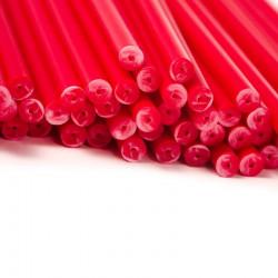 Klubbpinnar 11,4 cm, 50 st - röda (Yo)