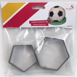 Fotboll, 2 st utstickare (093)