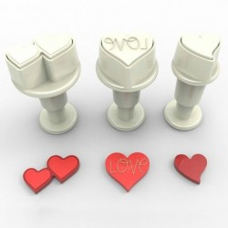 Stylish Heart m ejector, 3 st mini