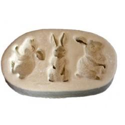 Kaniner/Harar, 3 st