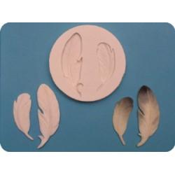 Fjädrar, silikonform