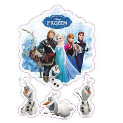Frost, 4 st sockerbilder
