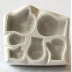 Bebishänder (3 par), form