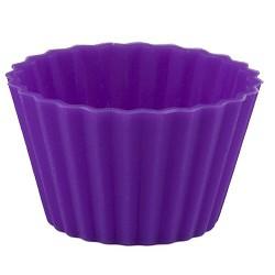 Knäckformar i lila silikon, 40 st