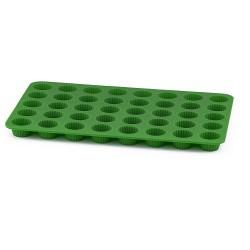 Knäckbricka (grön), silikon