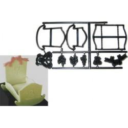 Vagga 3D, utstickare/embossers
