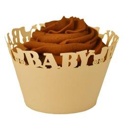 Baby, cupcake wraps