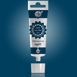 Blå (Navy Blue) pastafärg på tub (RD)