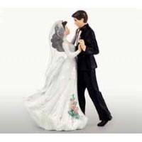 Bröllopsvals, brudpar