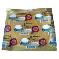 Sugarpaste, vit 1 kg (Bakels)