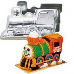 3D Tåg, bakform
